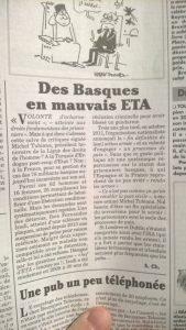 Des Basques en mauvais ETA